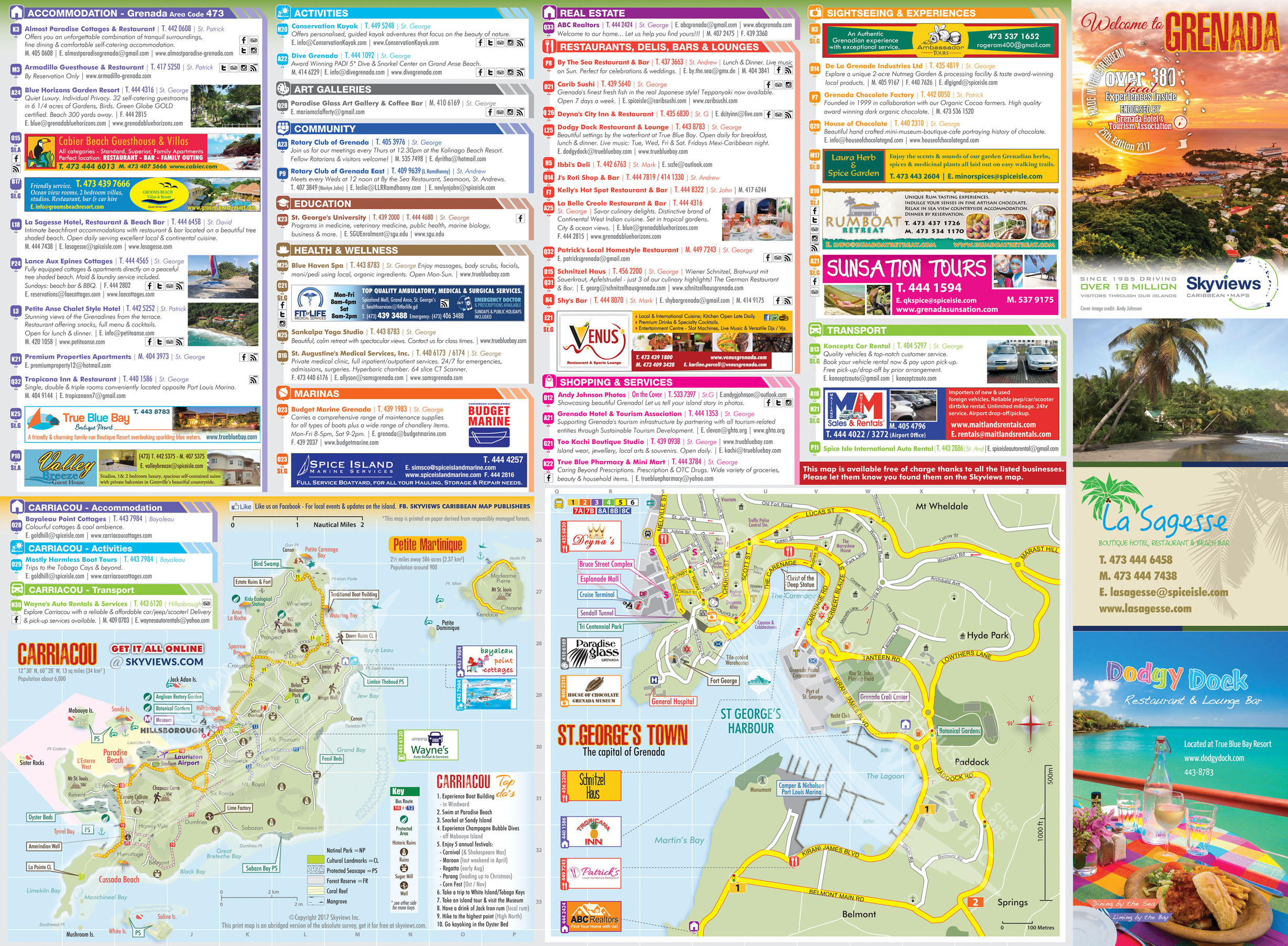 Map of Grenada Caribbean Islands Maps and Guides